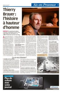 Dans le journal La Provence