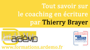 Comprendre le coaching en écriture